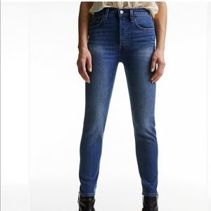 Aritzia Denim Forum The Yoko High Rise Slim Jeans